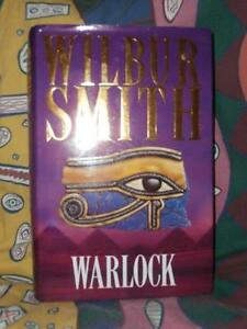 Warlock by Wilbur Smith (hardcover)