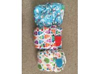 ***SOLD*** Tots bots Easyfit Royal Nappy Set