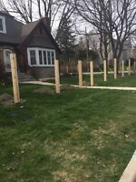 Fences and Post Holes