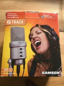 Samson G Track USB Mic Guitar Recording Interface