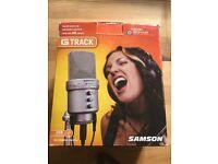 Samson G Track USB Mic Guitar Recording Interface