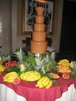 Sweet Tables, Chocolate Fountains, Fruit Platters, Edible Favors