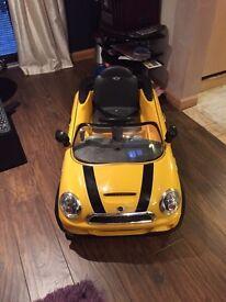 Mini electric car