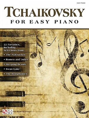 Tchaikovsky for Easy Piano Sheet Music Composer Collection Book NEW 002502386