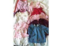3-6 months bundle of baby girls clothes