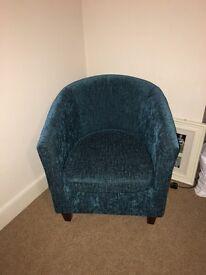 Tub chair - teal