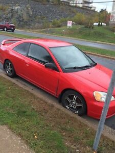 2003 Honda Civic coupe - approx 210,000 kms - clutch going