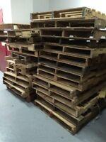 Palettes de bois a vendre