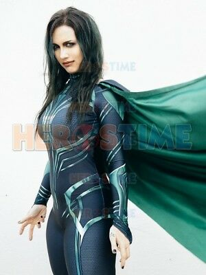 Hela of Thor Ragnarok Cosplay Costume With Cape  3D Printing  For Girl/Lady](Thor Costumes For Girls)