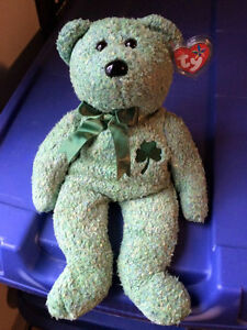 Shamrock the St. Patrick's Day bear Ty Beanie Buddy
