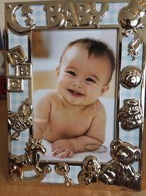 Beautiful baby photo frame. Brand new in original packaging.