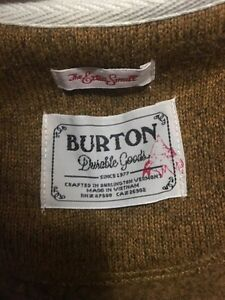 NWT Burton minxy sweater xs  Cambridge Kitchener Area image 4