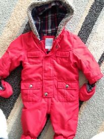 John Lewis all in one coat excellent 3-6 months WA £36 baby boy clothes