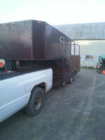 remorque fifth wheel 18pied x 7pied+deck7pied 2000$nego