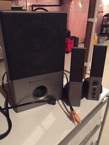 Altec Lansing speaker set  Kitchener / Waterloo Kitchener Area image 1
