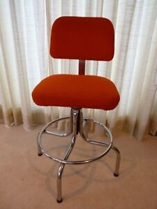 Vintage Drafting Stool Sarnia Sarnia Area image 1