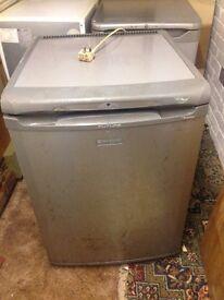 Hotpoint silver fridge