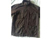 Waxed jacket