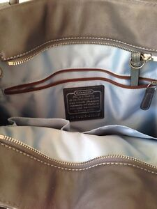 Large Leather COACH bag Peterborough Peterborough Area image 3