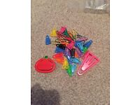 Selection of paper clips
