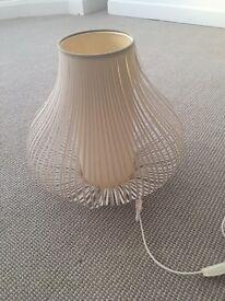 John Lewis Harmony Ribbon Table Lamp - Small