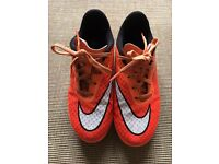 Nike Hyper Venom Football Boots size 2 junior