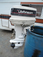 SIX GOOD USED OUTBOARDS-4.5HP TO 20HP