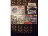 Great condition Nintendo wii with 6 games