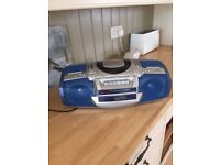 Woolworth sound system CD cassette and radio vgc