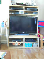 Entertainment Unit / Small T.V. Stand / Ikea Chair