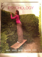 PSYCHOLOGY- 5th Canadian Edition (Wade)