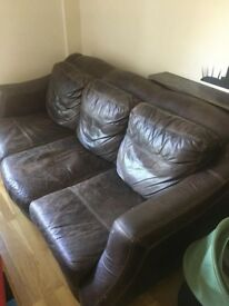 FREE DFS leather sofa, to collect from SE3