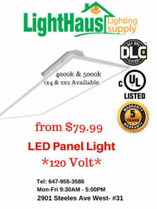 LED Panel Light* 2x4 Panel, LED flat panel DLC