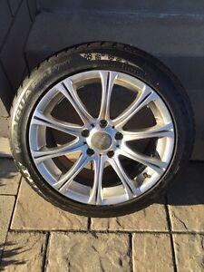 4 Mags avec pneus hiver Nexen 7/32