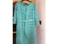 Nice Women Dress with cape Eur 42 size