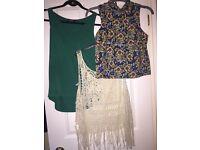 Bundle of women's clothes size 6-8 good cond