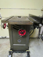 Walker-Turner TA1180B Tilting Arbor Table Saw - SOLID CAST IRON