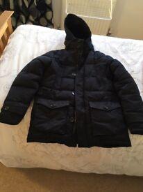 Zara men waterproof proof Winter coat