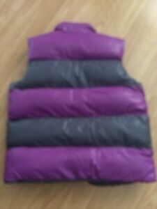 Girls Purple Grey Vest Kitchener / Waterloo Kitchener Area image 3