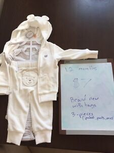 White bear outfit 12 months