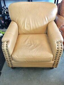 Genuine Leather chair Windsor Region Ontario image 3