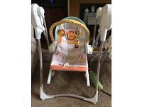 Fisher price unisex 2 in 1 baby swing
