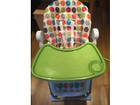 SOLD Mamas and papas high chair