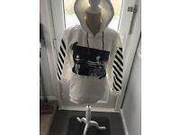 Unisex OFF WHITE Hoodies - Brand New - Present that doesn't fit