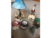 Christmas Items Clear Out, trees, candle decorations etc