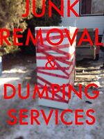JUNK REMOVAL SERVICE ***FREE QUOTES***780-243-3316