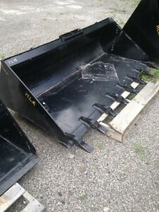 SKID STEER BUCKETS, PALLET FORKS, SPEARS, and MORE