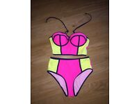 High rise bikini
