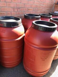Food Grade 200L Plastic Drums - MUST SELL