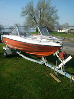 165HP Boat & Trailer for sale